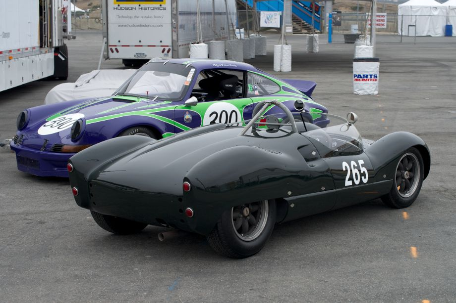 Porsche and Cooper 'Bobtail'