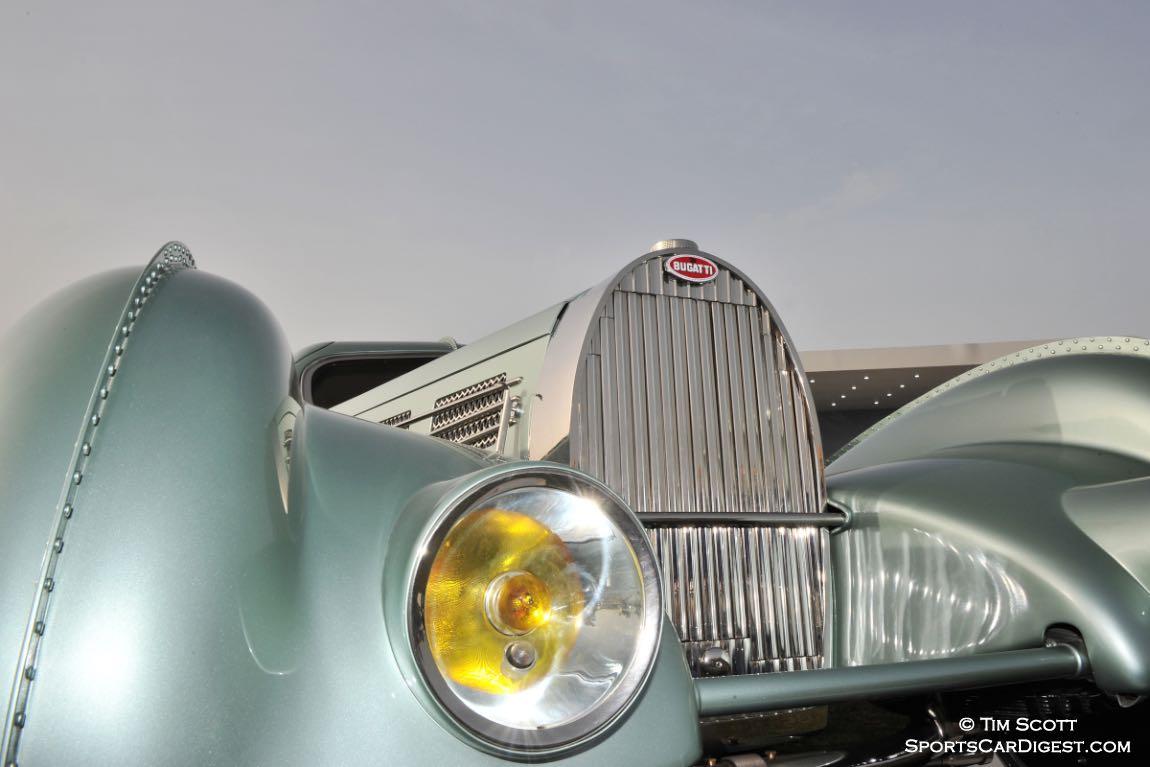 1935 Bugatti Type 57 Aerolithe Electron Coupe