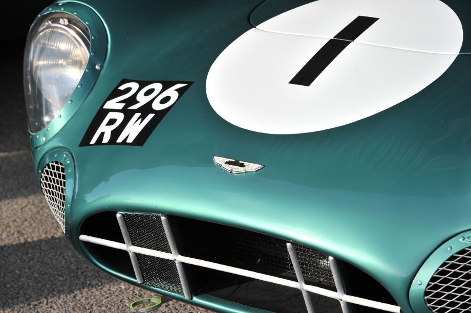 Aston Martin DBR1 - Goodwood Revival 2013 - Behind the Scenes