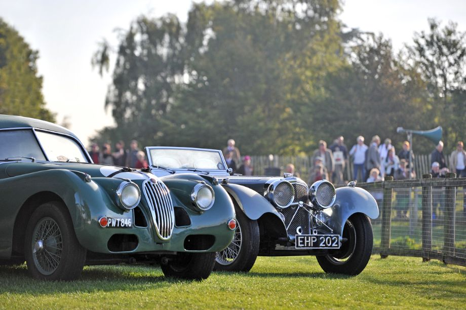 Jaguar Feast - Goodwood Revival 2013 - Behind the Scenes