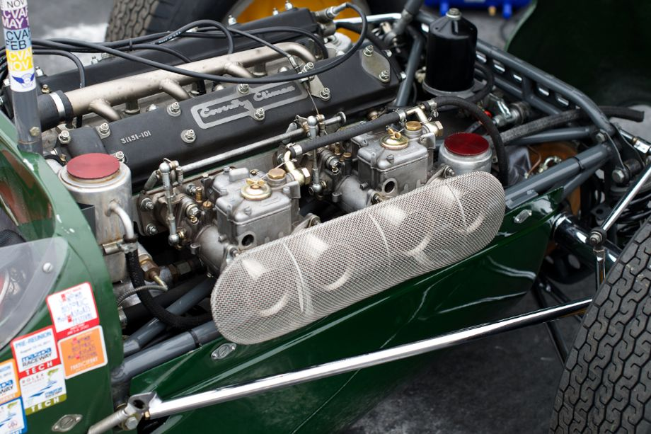 Coventry Climax F1 in a Lotus 18.
