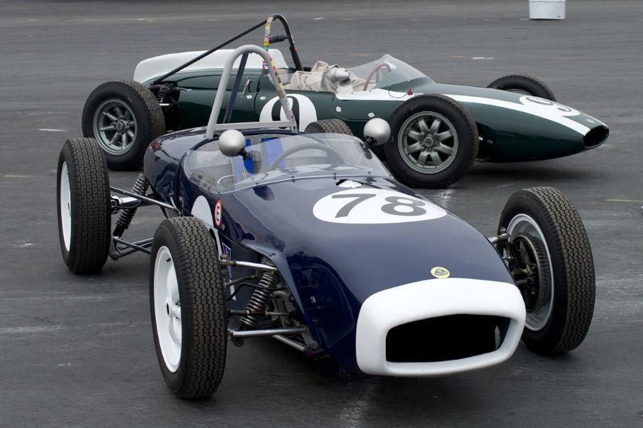 Lotus and Cooper F Jr.