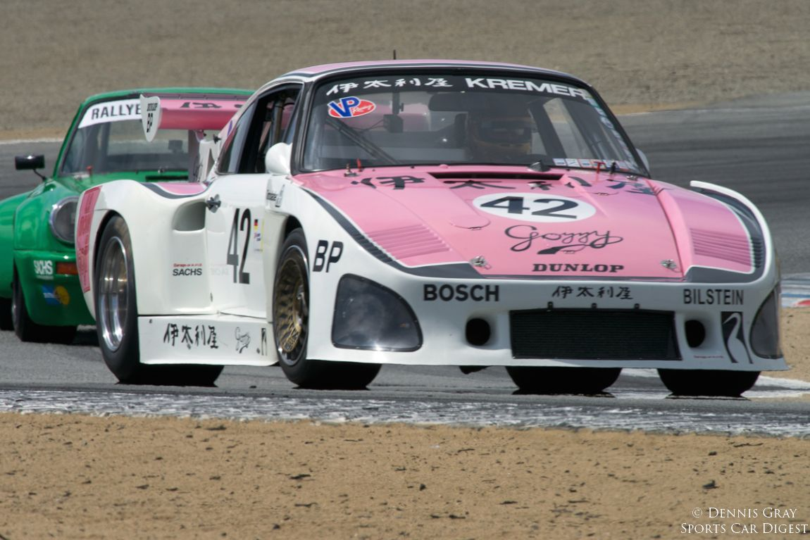 Ranson Webster's 1976 Porsche 935 K3 accelerates out of turn two.