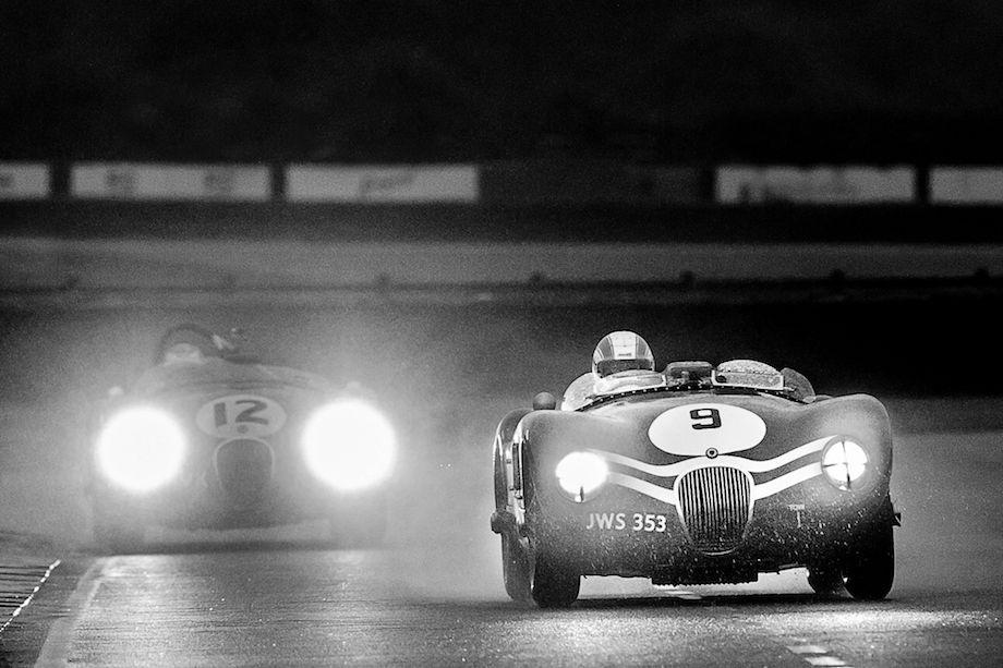 Jaguar C-Types turn back the clock at the Goodwood Revival (photo: Tim Scott)