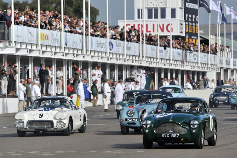 Chevrolet Corvette, Jaguar XK140 and Aston Martin DB2/4 MkIII