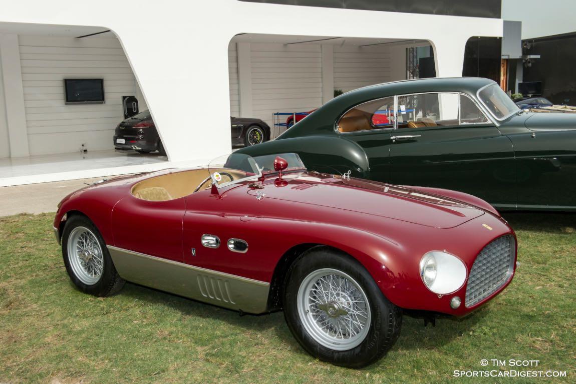 1953 Ferrari 625 TF Vignale Spider