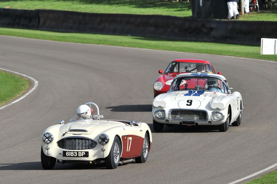 Austin-Healey 100/6, Chevrolet Corvette and Ferrari 250 GT Tour de France