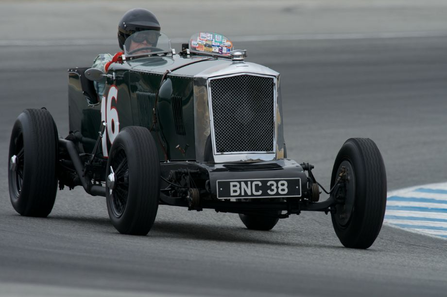 1935 Railton Light Sport Tourer Roadster driven by Ivan Zaremba.