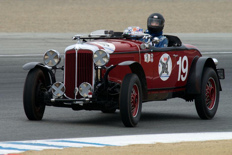 1931 Chrysler CD-8 Le Mans driven by Howard Swig.