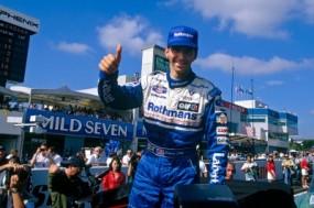 Damon Hill at Rothmans Williams