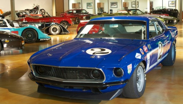 1970 Trans-Am Ford Mustang - Dan Gurney and Peter Revson