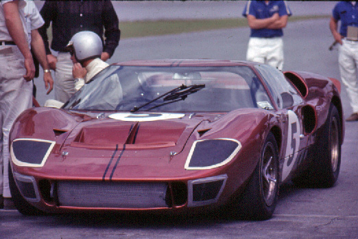 Holman Moody Ford GT40 Mk II Mario Andretti Richie Ginther Daytona 24 Hours 1967