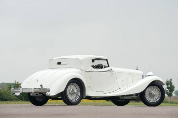 1933 Delage D8S Roadster with coachwork by DeVillars