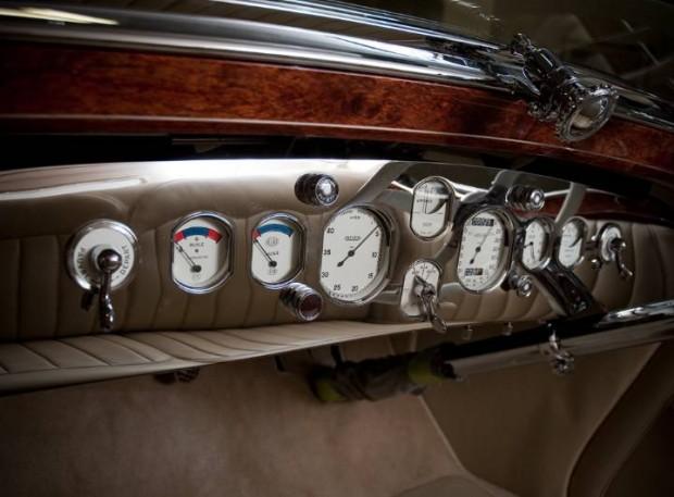 Delage D8S Roadster Interior