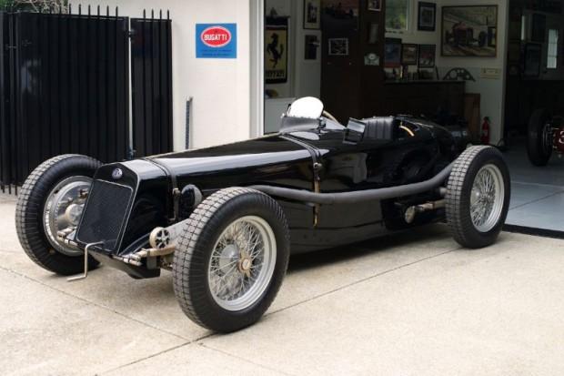 1927 Delage Gran Prix. The black Dick Seaman car.