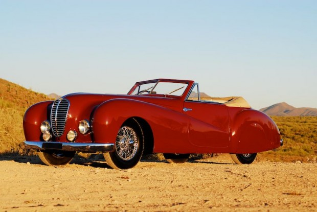 1948 Delahaye 135 M Cabriolet by Pourtout for sale