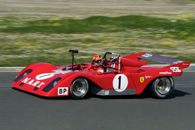 Stunning to watch, John Goodman's Ferrari had no further problems and finished the race well.  Graham Blake Photo