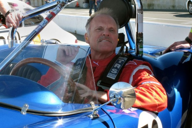 On the race start grid, John Goodman hoped that all would stay well with his Devin SS.  William Edgar Photo