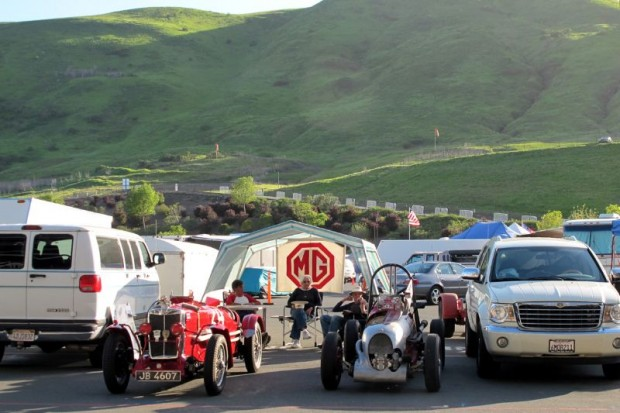 The CSRG Opener weekend and its good times came to a close at the base of Sonoma County hills.  William Edgar Photo