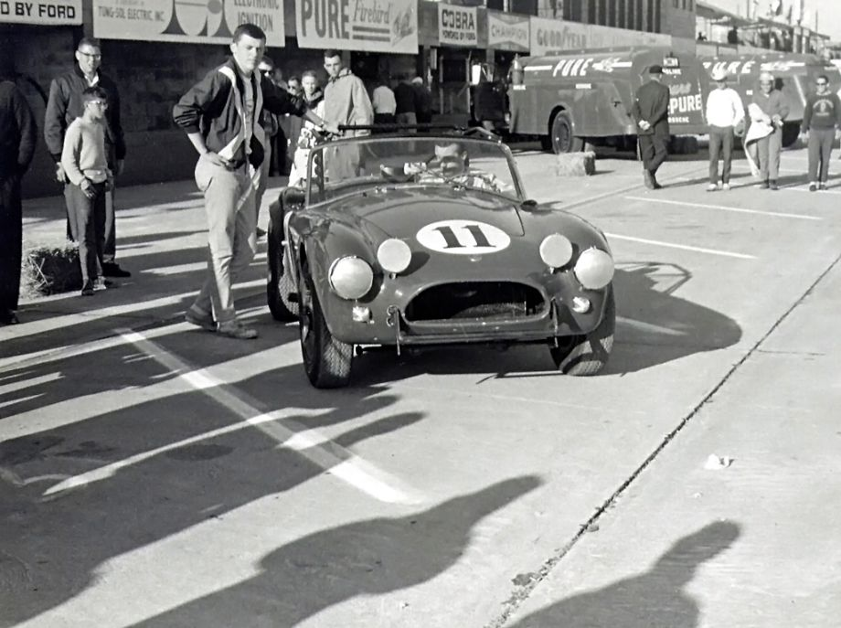 Holman Moody Shelby Cobra, Jocko Maggiacomo, 1963 12 Hours of Sebring