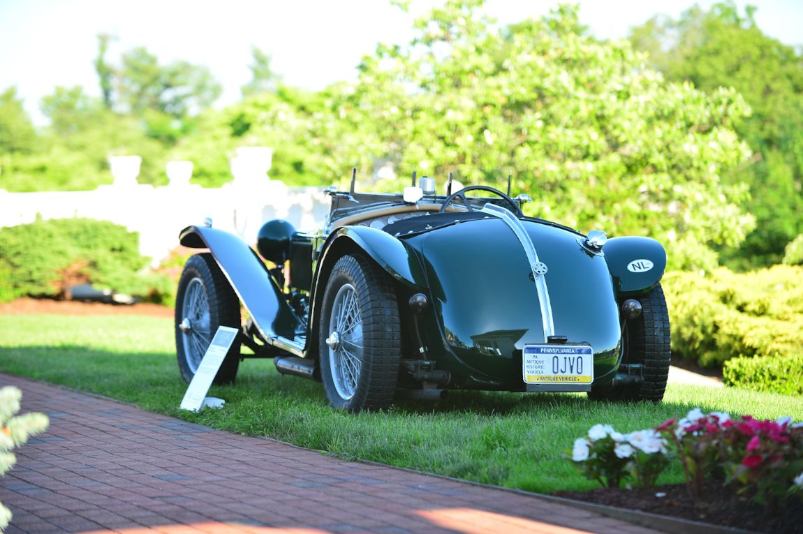 1935 Riley MPH Roadster.