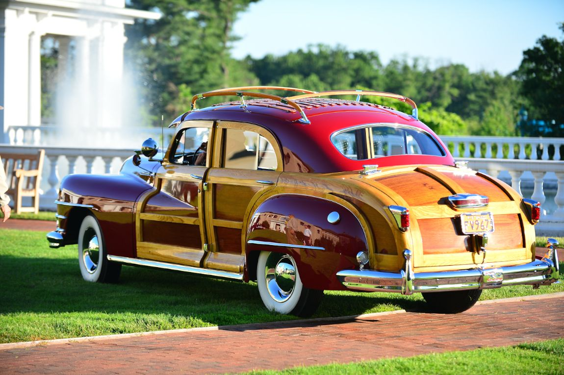 1947 Chrysler Town and Country Sedan.