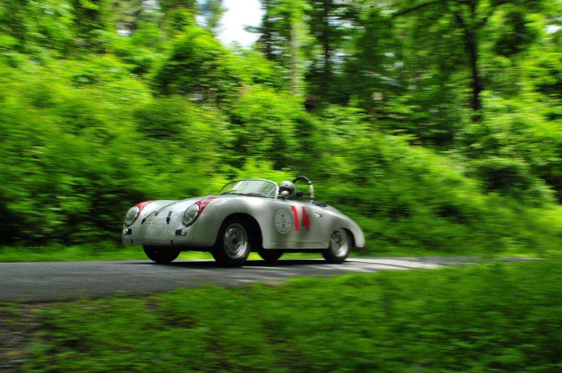 1956 Porsche Speedster.
