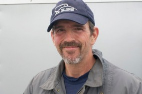 Steve Davis, driver of the F5000 Eagle Mk V