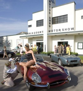 Earls Court Motor Show at the Goodwood Revival