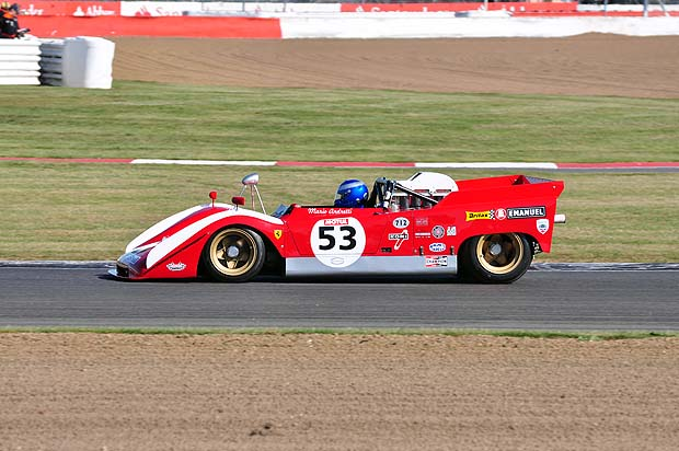 Early leader Paul Knapfield Ferrari 712. Photo: Simon Wright