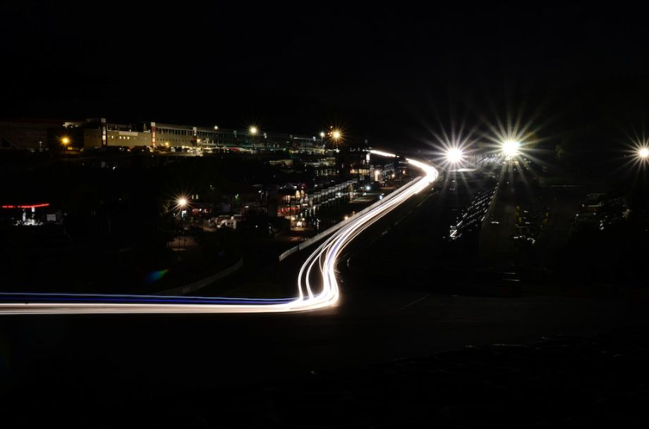 Night time at Spa Six Hours