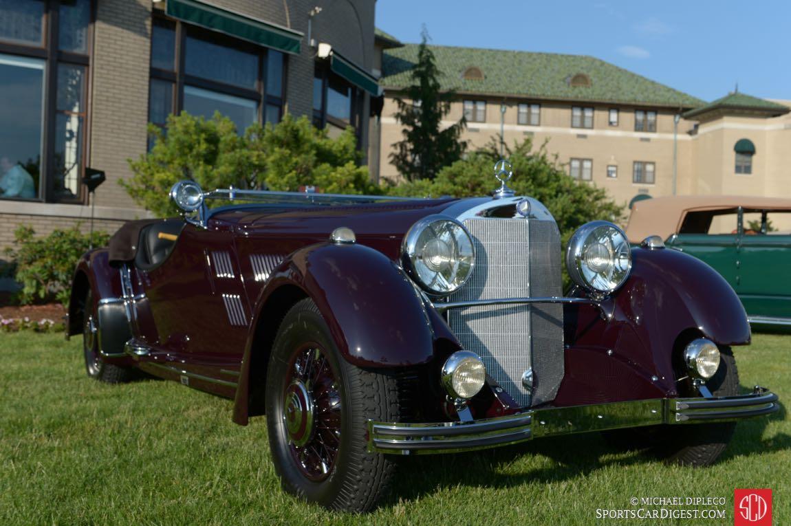 Best of Show Winner - 1934 Mercedes-Benz 500K Roadster