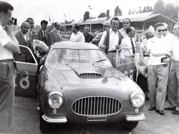 Elio Zagato at Monza