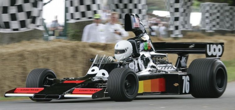 ex-Tom Pryce Shadow DN5 at Goodwood Festival of Speed