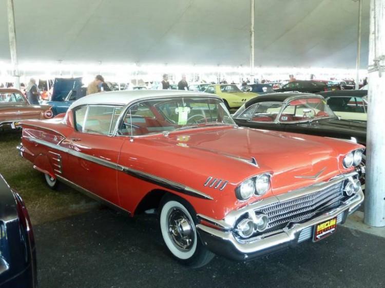 1958 Chevrolet Bel Air Impala 2-Dr. Hardtop