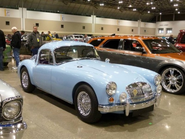 1960 MG A 1600 Coupe