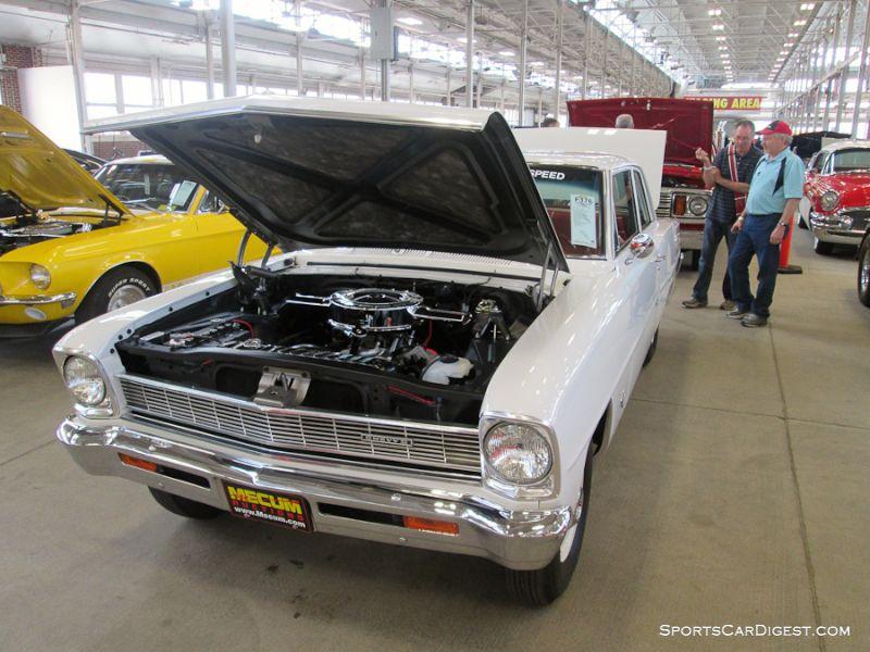 1966 Chevrolet Chevy II 100 2-Dr. Sedan