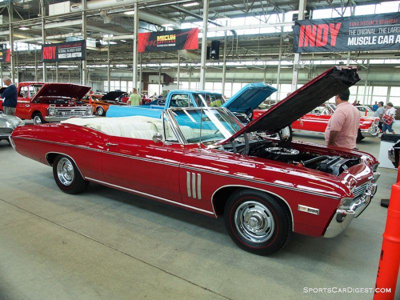 1968 Chevrolet Impala SS 427 Convertible