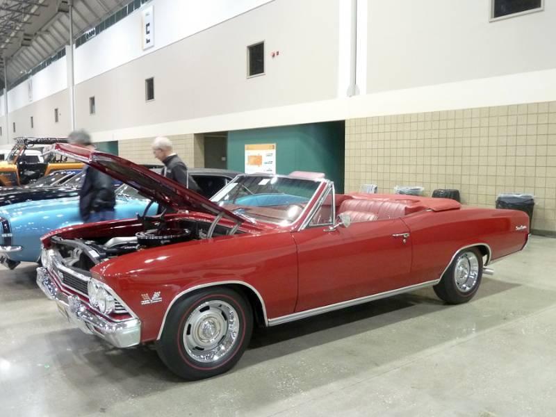 1966 Chevrolet Chevelle SS 396 Convertible