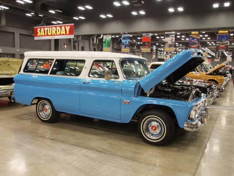 1966 Chevrolet Suburban Carryall