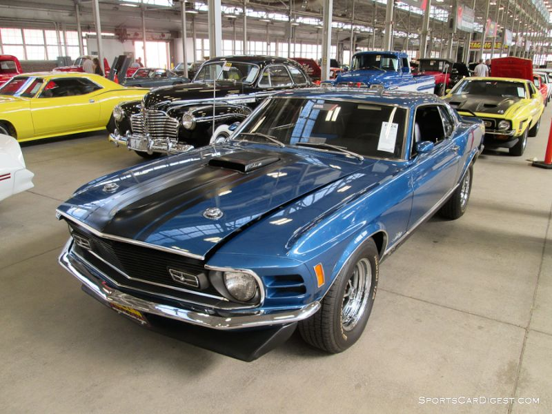 1970 Ford Mustang Mach 1 2-Dr. Hardtop