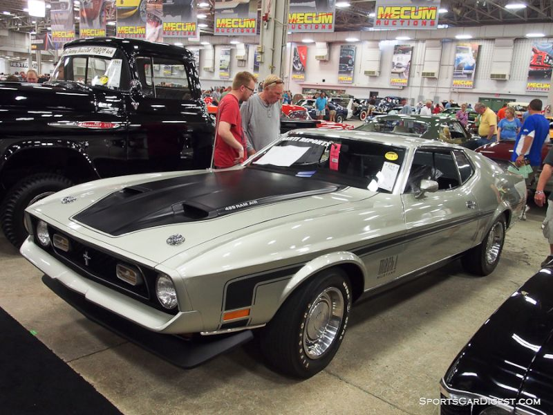 1971 Ford Mustang Mach 1 Fastback