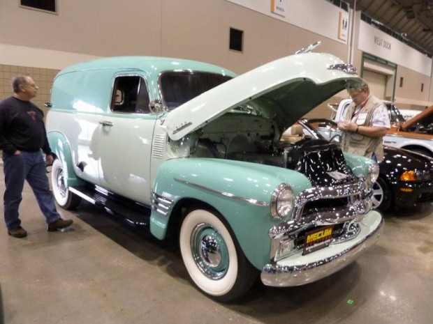 1954 Chevrolet 3100 Deluxe Panel Truck