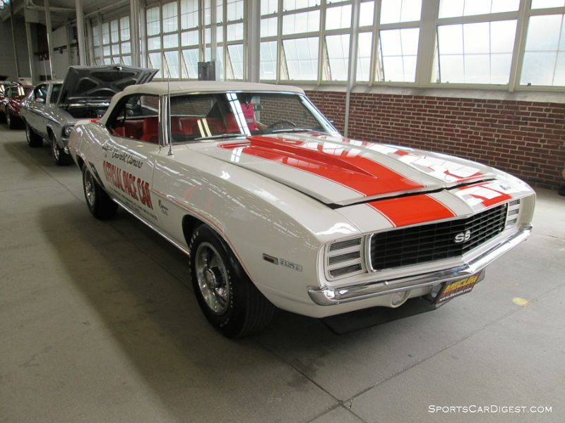 1969 Chevrolet Camaro Convertible Pace Car