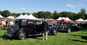 Fairfield County Concours Best of Show Winners - 1933 Duesenberg SJ Beverly and 1938 Alfa Romeo 6C 2300 B Mille Miglia