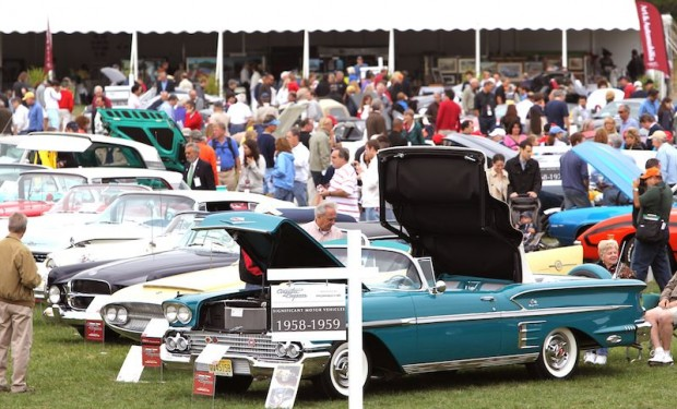 Scene at Fairfield County Concours d'Elegance 2010