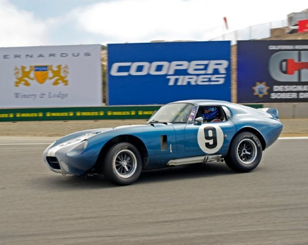 1965 Cobra Daytona Coupe - Rob Walton - Monterey Motorsports Reunion