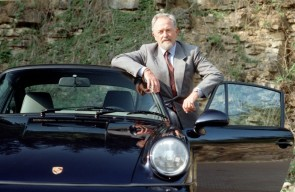 Ferdinand Alexander Porsche with 911 Carrera 2 3.6 Coupe (1992)