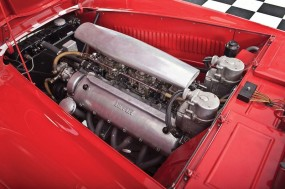 Ferrari 166 MM Barchetta Engine