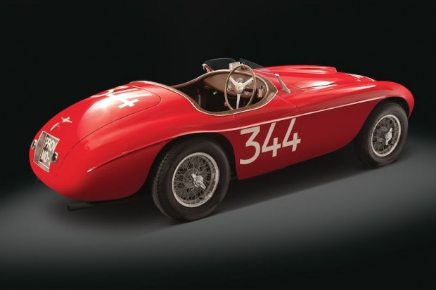 Ferrari 166 MM Barchetta Right Side